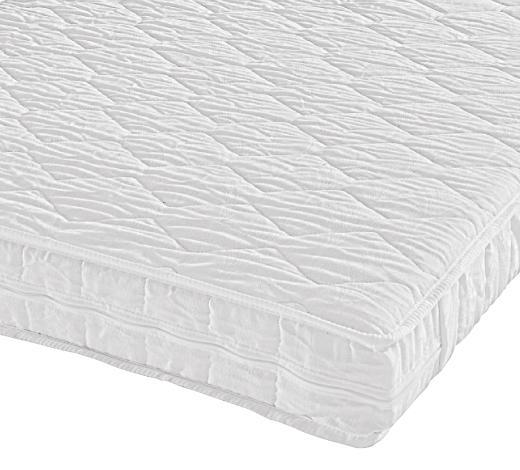 ROLLMATRATZE - Weiß, Basics, Textil (90/190cm) - Sleeptex