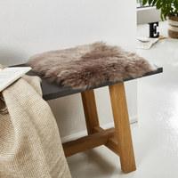 SCHAFFELL - Taupe, Basics, Leder/Textil (34/34cm) - Linea Natura