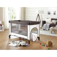 REISEBETT 126/66/75 cm  - Braun/Weiß, Basics, Kunststoff/Textil (126/66/75cm) - My Baby Lou