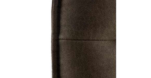 TRESENSTUHL in Schlammfarben, Edelstahlfarben  - Schlammfarben/Edelstahlfarben, Design, Textil/Metall (56/98/62cm) - Valnatura