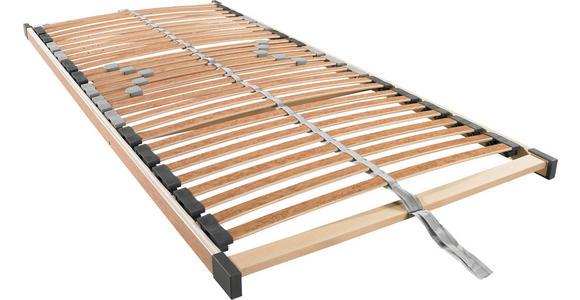 LATTENROST 90/200 cm  - Ahornfarben, Basics, Holz (90/200cm) - Sleeptex