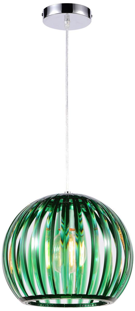 Hängeleuchte - Grün, Trend, Kunststoff (30,5/150cm) - Boxxx