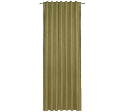FERTIGVORHANG blickdicht  - Grün, LIFESTYLE, Textil (140/245cm) - Esposa