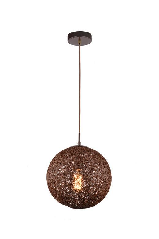 HÄNGELEUCHTE - Braun, LIFESTYLE, Weitere Naturmaterialien/Metall (30/150cm)