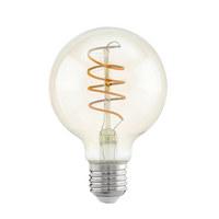 LED-Leuchtmittel E27 - Klar, Trend, Glas (12cm)