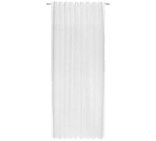 FERTIGVORHANG halbtransparent - Weiß, KONVENTIONELL, Textil (140/245cm) - Esposa