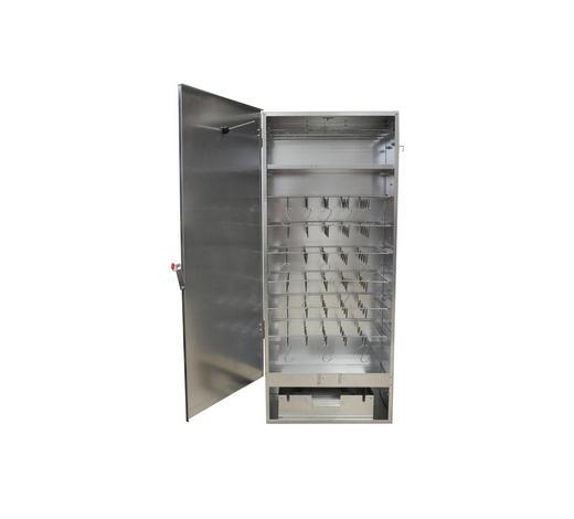 RÄUCHEROFEN - Silberfarben, KONVENTIONELL, Metall (46/110/28cm)