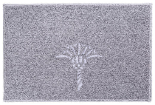 BADTEPPICH in Grau - Grau, Design, Kunststoff/Textil (50/60cm) - Joop!