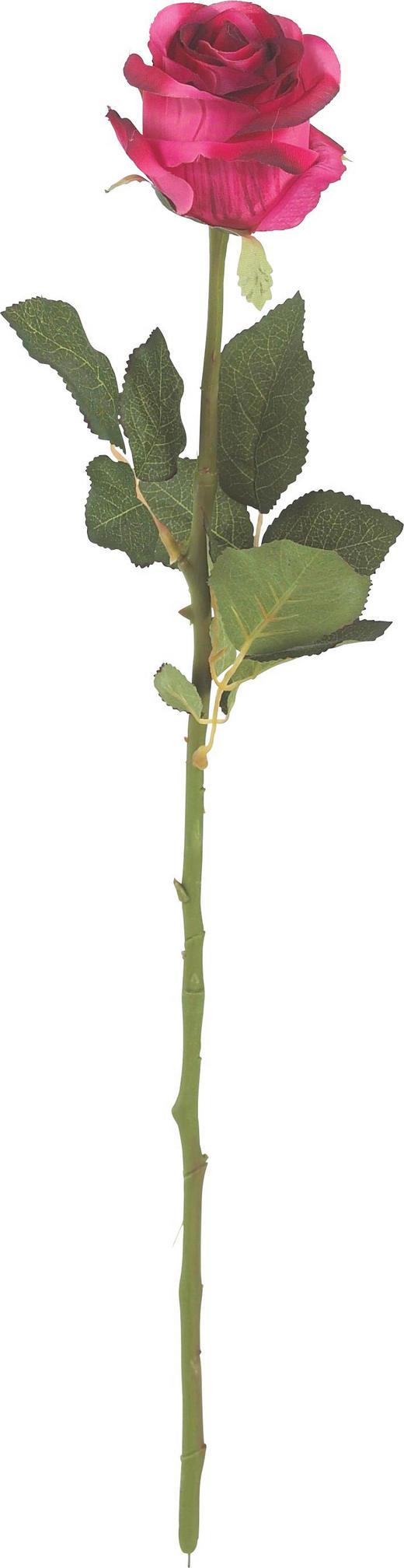 KONSTGJORD BLOMMA - röd/grön, Basics, textil/plast (55cm)