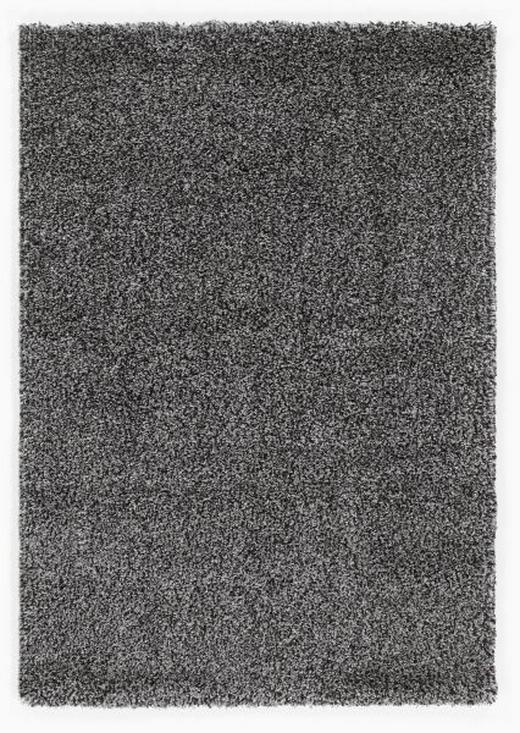 HOCHFLORTEPPICH  65/130 cm   Dunkelgrau, Grau, Hellgrau, Silberfarben - Dunkelgrau/Silberfarben, Basics, Textil (65/130cm) - Novel