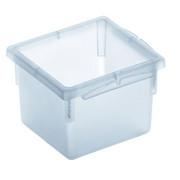 AUFBEWAHRUNGSBOX 8/8/5 cm - Klar, Basics, Kunststoff (8/8/5cm) - Rotho