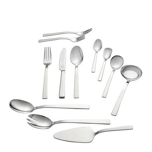 BESTECKSET  100-teilig  Edelstahl - Basics, Metall (37,5/17,0/49,5cm) - Zwilling