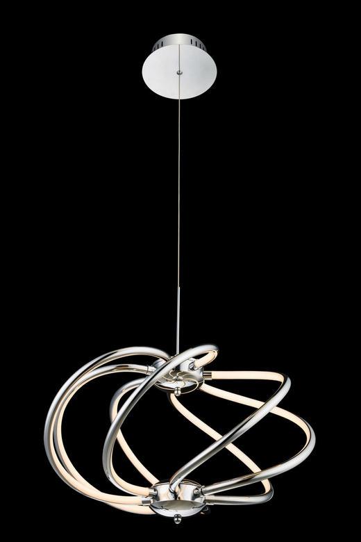 LED-HÄNGELEUCHTE - MODERN, Kunststoff/Metall (50/150cm)