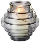 LYKTA - mörkgrå, Design, metall/glas (23/22,5cm) - Ambia Home