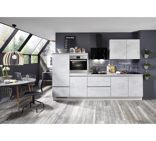 KUCHYŇSKÝ BLOK - šedá, Design, kompozitní dřevo (310cm) - Celina