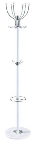 VJEŠALICA SAMOSTOJEĆA - bijela, Konvencionalno, kamen/metal (37/176/37cm) - Boxxx