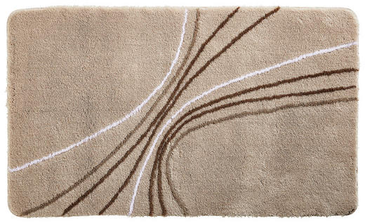 BADTEPPICH  Naturfarben  60/90 cm - Naturfarben, Design, Textil/Weitere Naturmaterialien (60/90cm) - Kleine Wolke