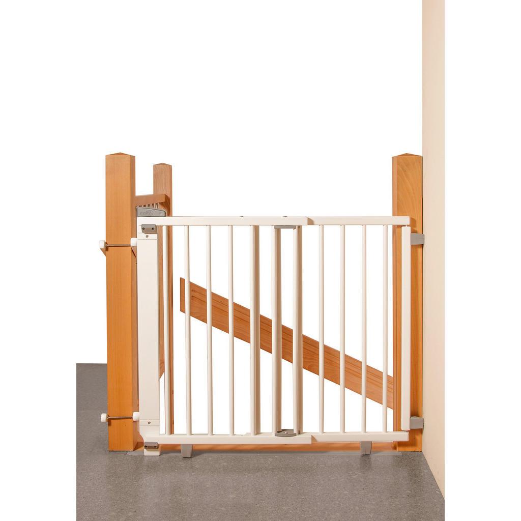 Geuther TREPPENSCHUTZGITTER, Mehrfarbig   Kinderzimmer > Babymöbel > Lauf- & Schutzgitter   Holz   Geuther