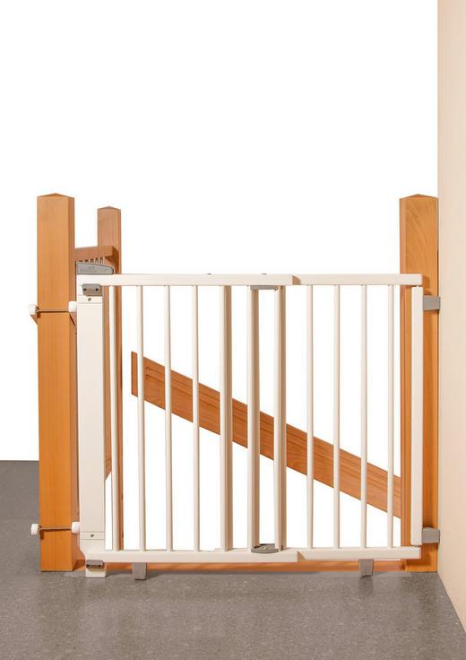 TREPPENSCHUTZGITTER - Naturfarben, Basics, Holz (67-107/83cm) - Geuther