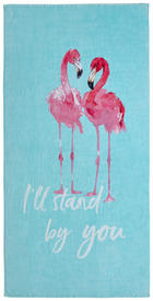 STRANDTUCH 90/180 cm - Blau/Weiß, Design, Textil (90/180cm) - Esposa
