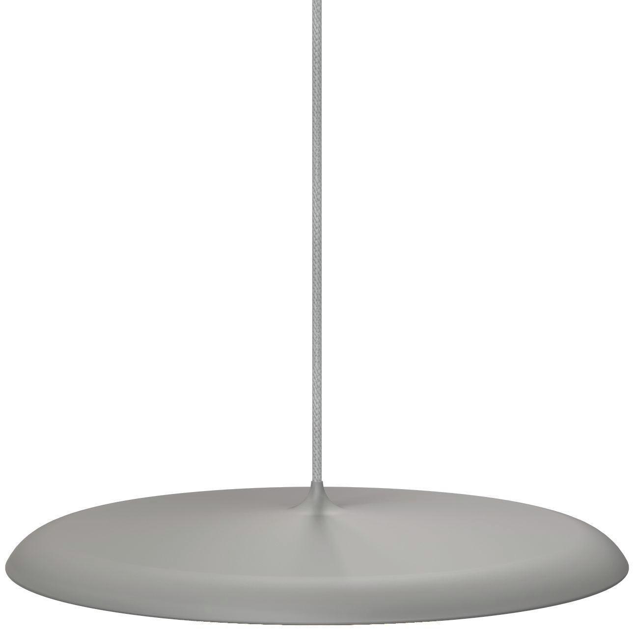 LED-HÄNGELEUCHTE - Dunkelgrau, Design, Kunststoff/Metall (40/6cm)