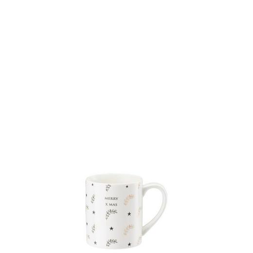 Hutschenreuther Kaffeebecher - Anthrazit/Goldfarben, Basics, Keramik (12,3/12,3/12,1cm)