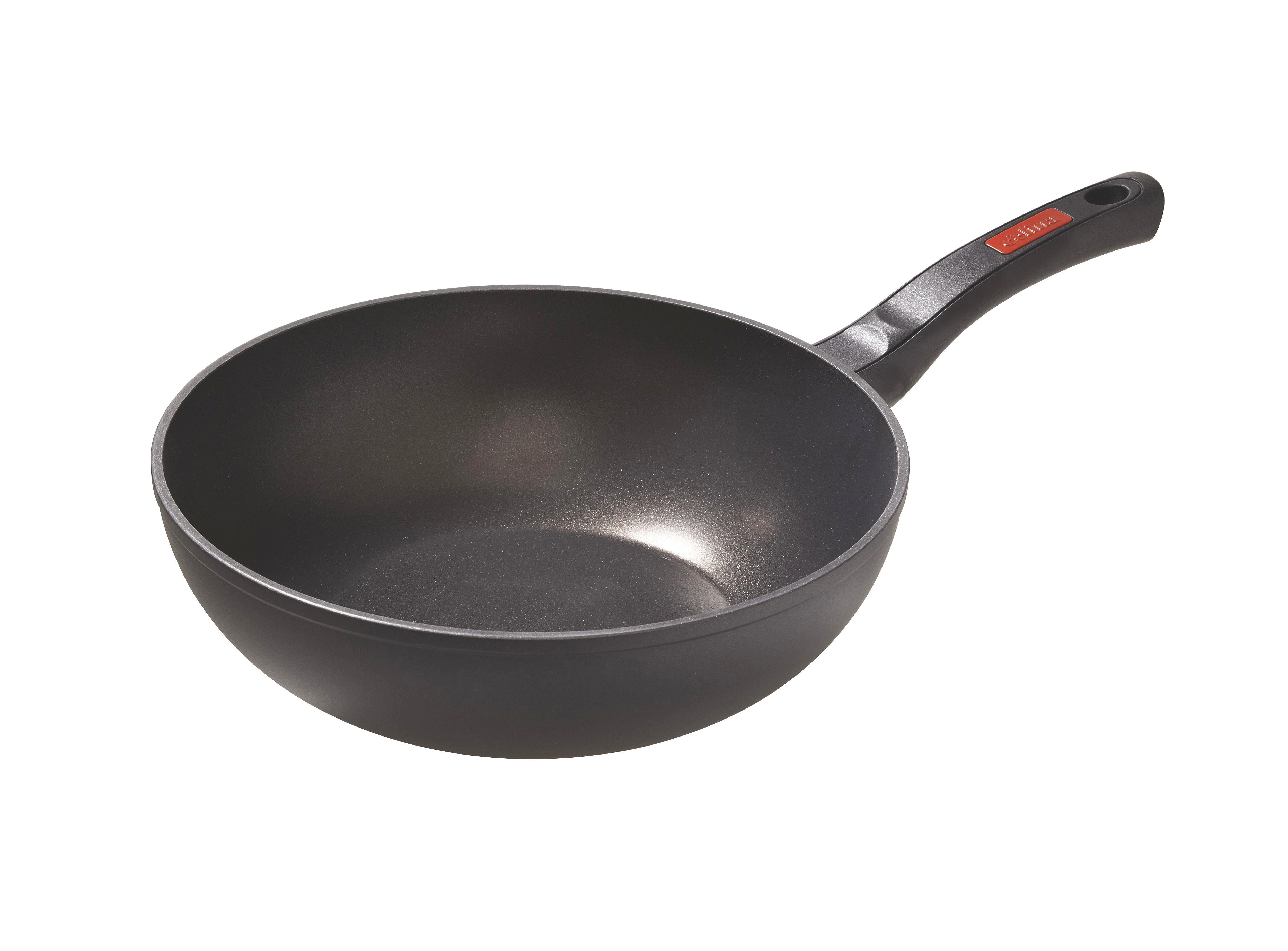 WOK - svart, Basics, metall (28cm) - HOMEWARE