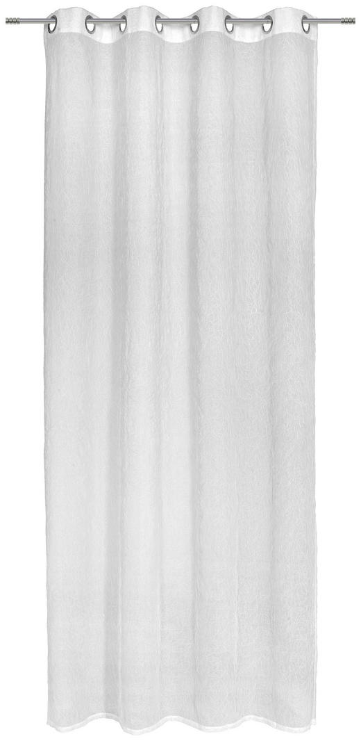 ÖSENSCHAL  halbtransparent  135/245 cm - Weiß, Basics, Textil (135/245cm) - Esposa