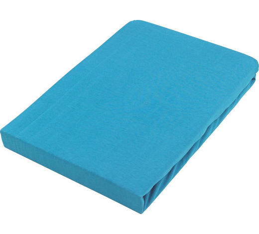 PROSTĚRADLO NAPÍNACÍ - petrolej, Basics, textil (140/200cm) - Boxxx