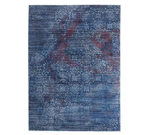 WEBTEPPICH  140/200 cm  Blau   - Blau, Basics, Textil (140/200cm) - Novel