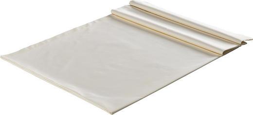 TISCHDECKE Textil Creme 160/250 cm - Creme, Textil (160/250cm)