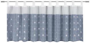 KURZGARDINE   140/48 cm   - Blau, Trend, Textil (140/48cm) - Esposa