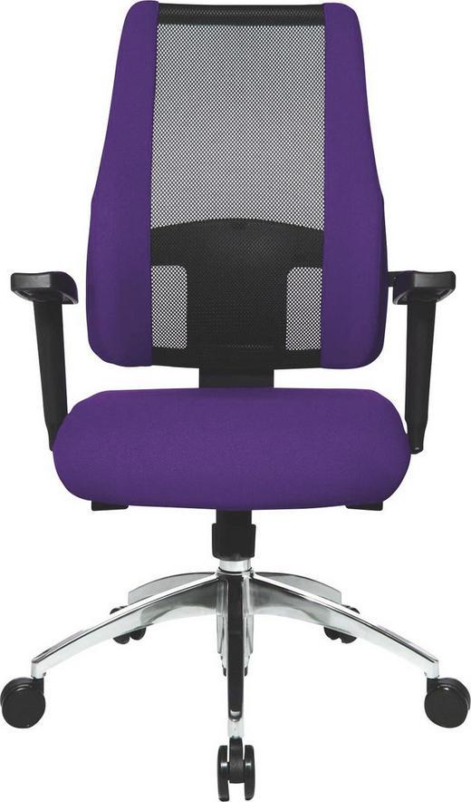 DREHSTUHL - Violett/Schwarz, Design, Kunststoff/Textil (50/83-95/46cm)