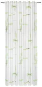 FERTIGVORHANG transparent - Grün, Design, Textil (140/245cm) - ESPOSA