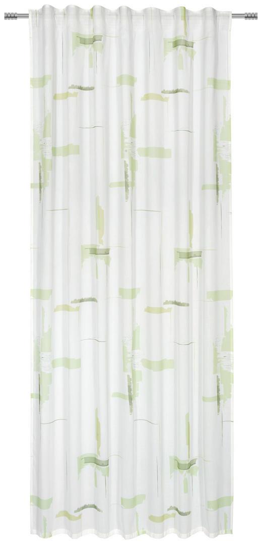FERTIGVORHANG  transparent  140/245/ cm - Grün, KONVENTIONELL, Textil (140/245/cm) - Esposa