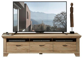 TV-ELEMENT Eichefarben - Eichefarben, Design, Metall (206/54/51cm) - Landscape