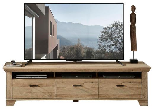TV-ELEMENT Eichefarben - Eichefarben, Design, Metall (206/54/51cm) - Landscape