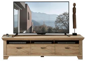 TV-ELEMENT Eichefarben - Eichefarben, LIFESTYLE, Metall (206/54/51cm) - LANDSCAPE