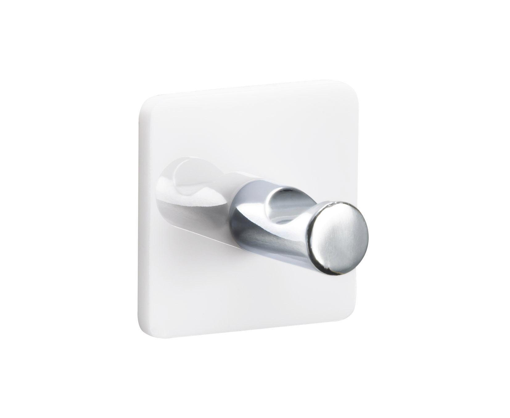 ZIDNA KUKA - bijela, plastika (5/5cm)