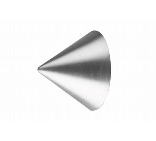 ENDSTÜCK  - Edelstahlfarben, Basics, Metall (3/4cm) - Homeware