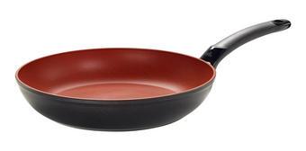 PÁNEV - černá/červená, Basics, kov (28cm) - Fissler