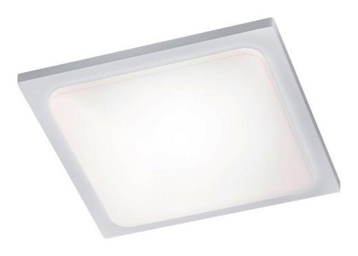 AUßENDECKENLEUCHTE - Weiß, Design, Metall (25/25cm)
