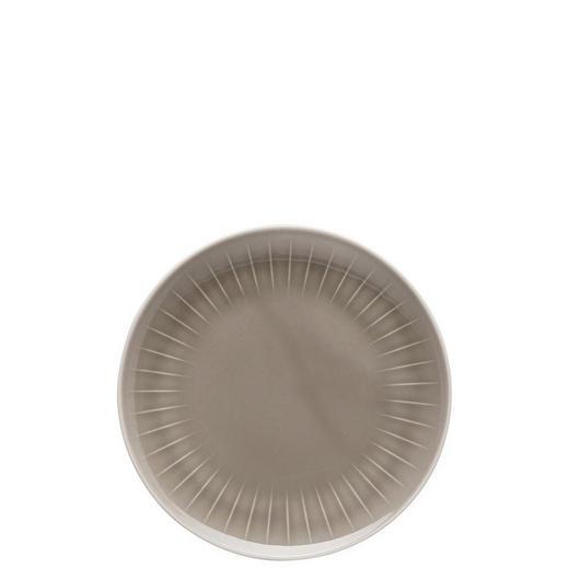 FRÜHSTÜCKSTELLER Keramik Porzellan - Grau, Basics, Keramik (20cm)