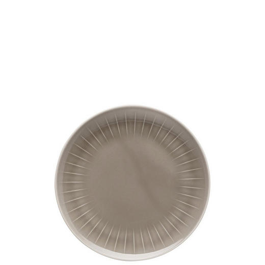 FRÜHSTÜCKSTELLER Porzellan - Grau, Basics (20cm)