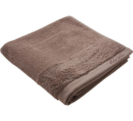 DUSCHTUCH 70/140 cm - Taupe, Natur, Textil (70/140cm) - Bio:Vio