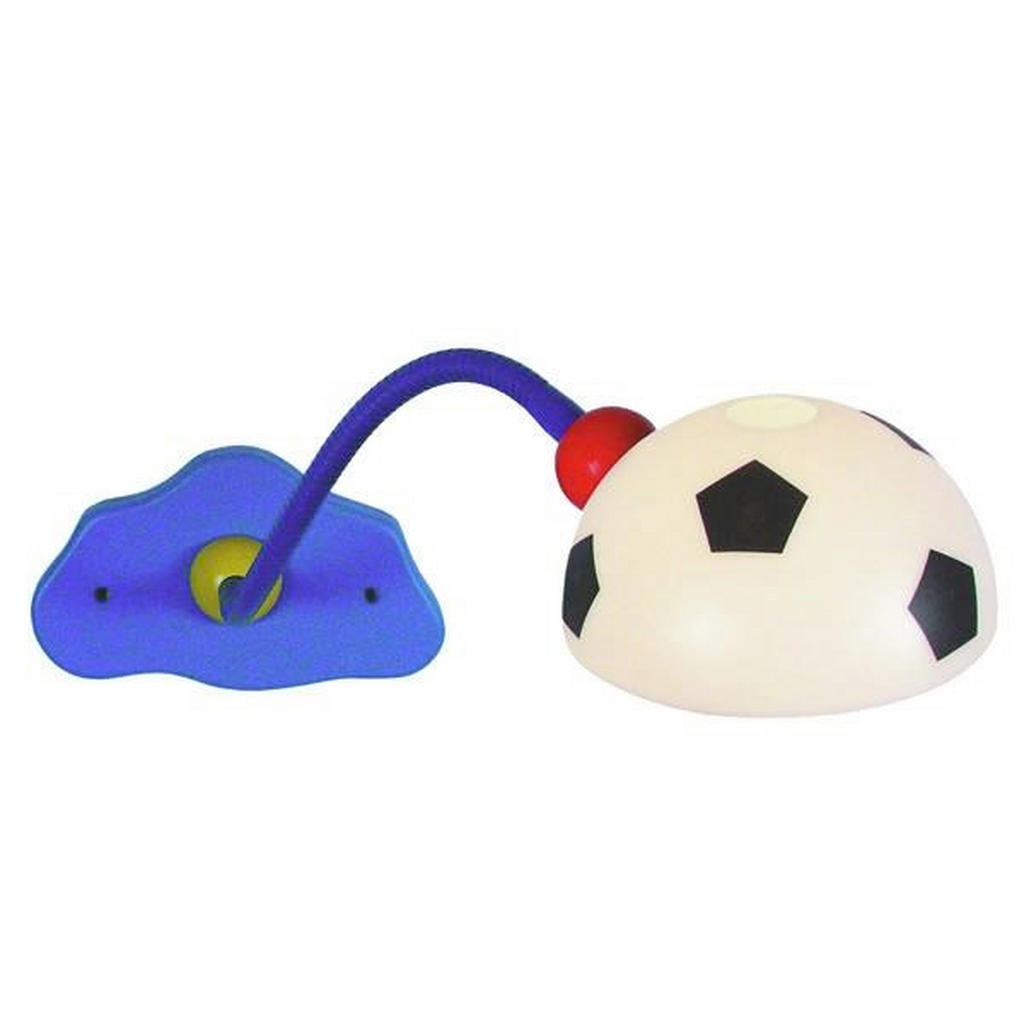 Schwenkbare Kinderwandleuchte mit Fußballlampenschirm