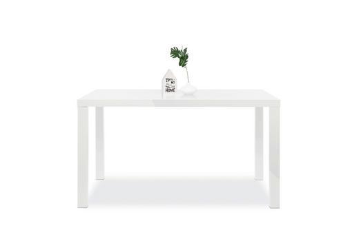 ESSTISCH  Weiß - Weiß, Design (140/80/75cm) - Carryhome