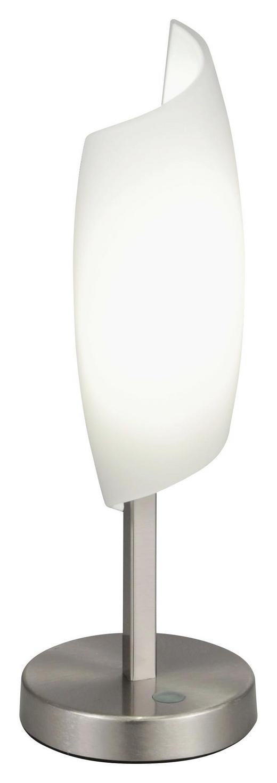 TISCHLEUCHTE - Weiß, Design, Glas/Metall (10CM/30CMcm)