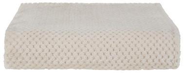 Kuscheldecke Belinda - Beige, ROMANTIK / LANDHAUS, Textil (130/170cm) - James Wood