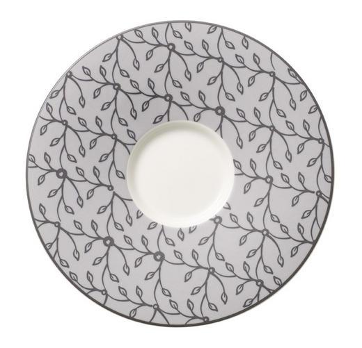 UNTERTASSE - Grau, Basics, Keramik (17cm) - Villeroy & Boch